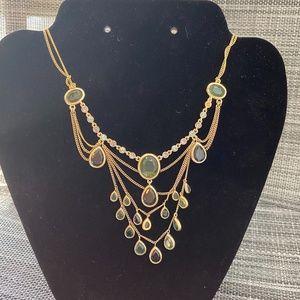 Jewelry - 🎊3/$10🎊Artificial Gems Boho Statement Necklace